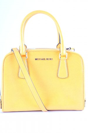 Michael Kors Carry Bag gold orange classic style