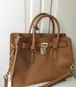 Michael Kors Carry Bag cognac-coloured