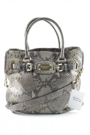 Michael Kors Carry Bag oatmeal-black animal pattern extravagant style