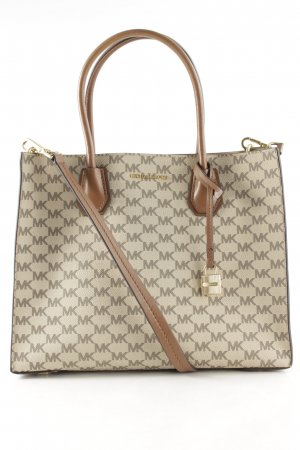 "Michael Kors Carry Bag ""Mercer LG Convertible Tote Natural/Luggage"""