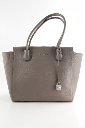 "Michael Kors Carry Bag ""Mercer LG Leather Satchel Cinder"" grey brown"