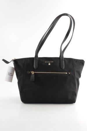 "Michael Kors Carry Bag ""Nylon Kelsey MD TZ Tote Black"" black"