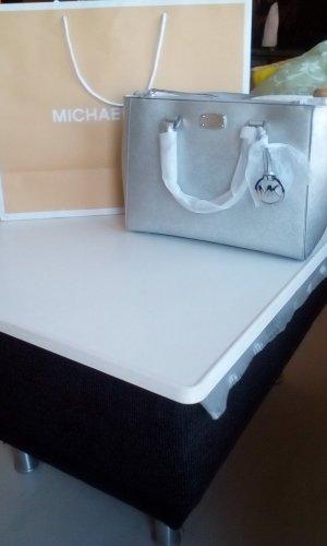 Michael Kors Carry Bag light grey leather