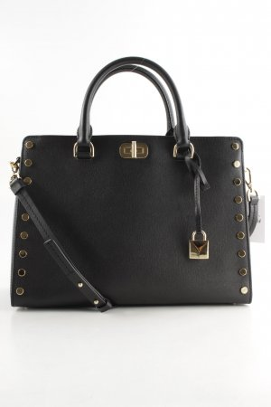 "Michael Kors Carry Bag ""Sylvie Stud Large Satchel Black"" black"