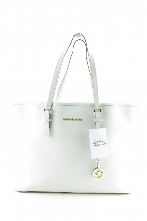 Michael Kors Carry Bag natural white-gold-colored classic style