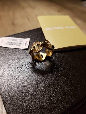 Michael Kors Heritage Martime Ring gr. 6 gold Strass
