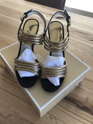 Michael Kors High Heel Sandal gold-colored-black