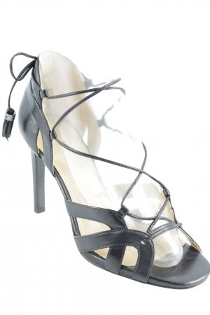 Michael Kors High Heel Sandaletten schwarz Elegant