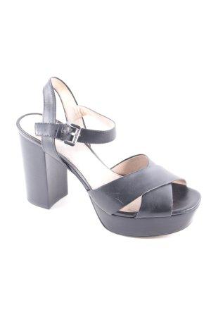 Michael Kors High Heel Sandaletten schwarz klassischer Stil