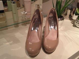 Michael Kors High Heels 36 1/2 nude Lackleder