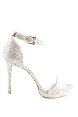 Michael Kors High Heels silberfarben Elegant