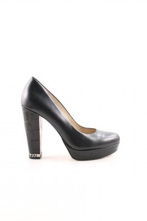 Michael Kors High Heels schwarz Business-Look