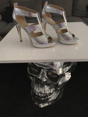 Michael Kors High Heel Sandal silver-colored