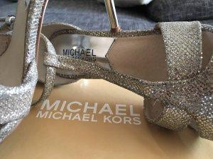 MICHAEL KORS High Heels silber, Hochzeit/Party