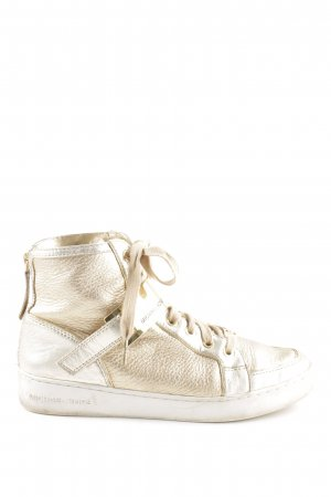 Michael Kors High Top Sneaker goldfarben Casual-Look