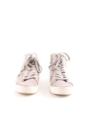 Michael Kors High Top Sneaker creme Animalmuster sportlicher Stil