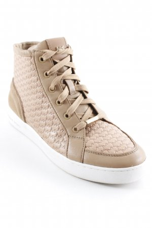 Michael Kors High Top Sneaker hellbraun Casual-Look