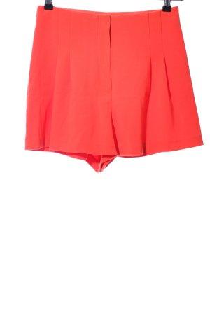 Michael Kors High-Waist-Shorts rot Casual-Look