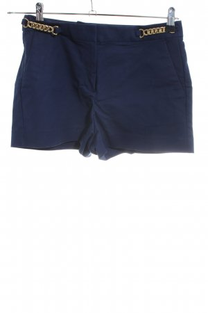 Michael Kors High-Waist-Shorts blau Casual-Look