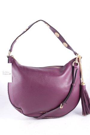 Michael Kors Hobo purpur Street-Fashion-Look