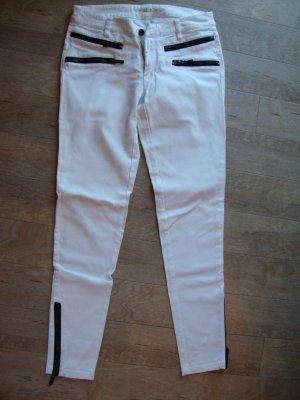 Michael Kors Hose 100% Original Gr. 34 Gr. 2 weiß/schwarz wenig getragen TOP ZUSTAND