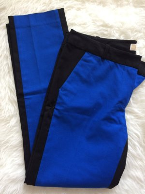 Michael Kors Hose 36 S 38 M neu blau schwarz Skinny Röhrenhose