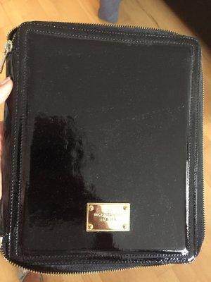 Michael Kors Custodia per cellulare nero-oro