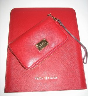 Michael Kors Mobile Phone Case red leather
