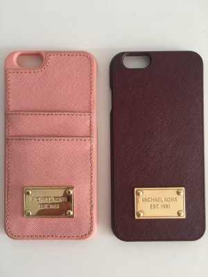 Michael Kors Hand Fan bordeaux-light pink leather