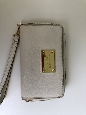 Michael Kors iPhone Tasche Clutch beige