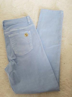 Michael Kors Pantalon cinq poches doré-bleu azur