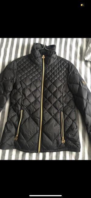 Michael Kors Down Jacket black-gold-colored