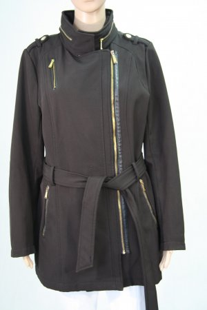 Michael Kors Long Jacket black polyester