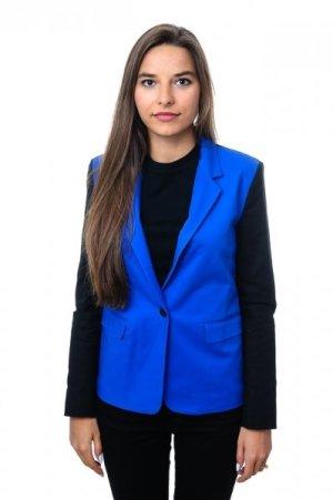Michael Kors Jacke / Mantel / Blazer Gr.XS / 34, Blau, neu, NP 375 EUR