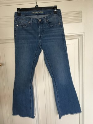 Michael Kors Jeans Schlaghose 3/4 denim blue 0 (34)