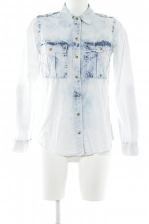 Michael Kors Jeanshemd himmelblau Jeans-Optik
