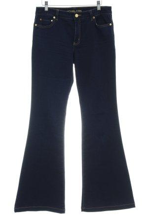 Michael Kors Jeans flare bleu foncé style boyfriend