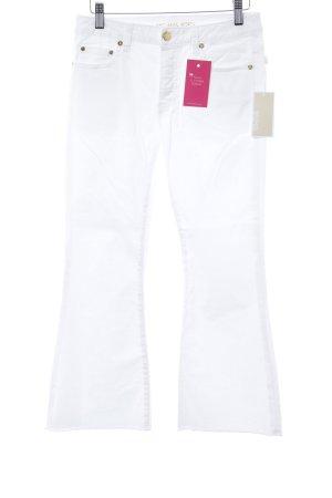 Michael Kors Jeansschlaghose weiß Retro-Look