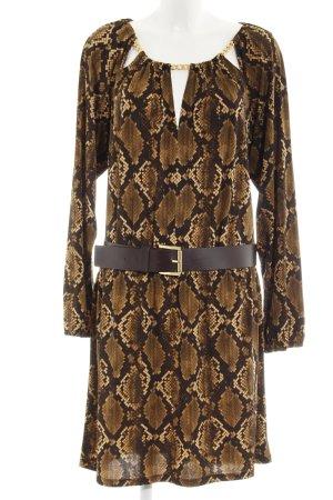 Michael Kors Jerseykleid Animalmuster Elegant