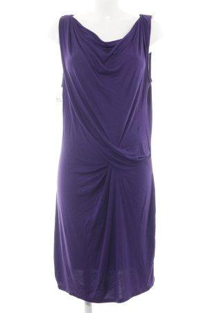 Michael Kors Jerseykleid dunkelviolett Casual-Look