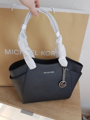 Michael Kors Handbag black-silver-colored
