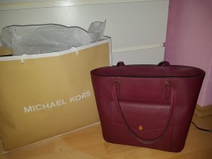 Michael Kors Tote bordeaux