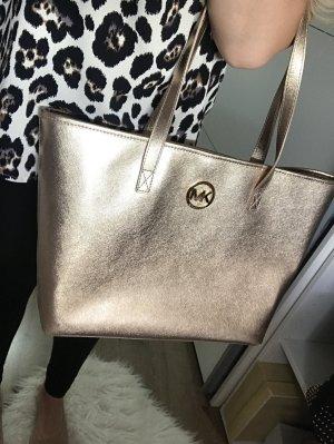 Michael Kors Jet Set Gold Tasche Handtasche Schultertasche Shopper