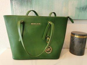 Michael Kors Jet Set Handtasche grün