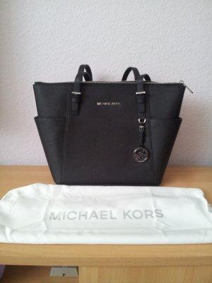 Michael Kors Shopper zwart Leer