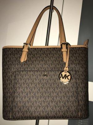 Michael Kors Carry Bag brown-sand brown leather