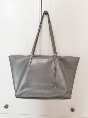 Michael Kors Carry Bag silver-colored-grey