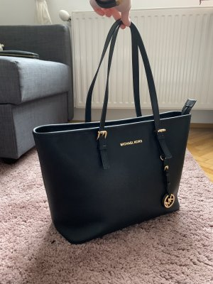 Michael Kors Jet Set Medium Blacm