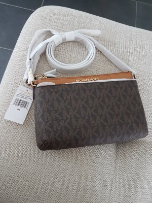Michael Kors Crossbody bag gold-colored-brown leather