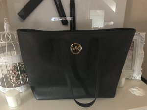 Michael Kors Jet Set Schwarz Tasche Schultertasche Handtasche